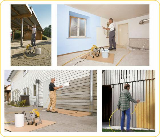 station de peinture airless wagner pro117 proxiloc. Black Bedroom Furniture Sets. Home Design Ideas