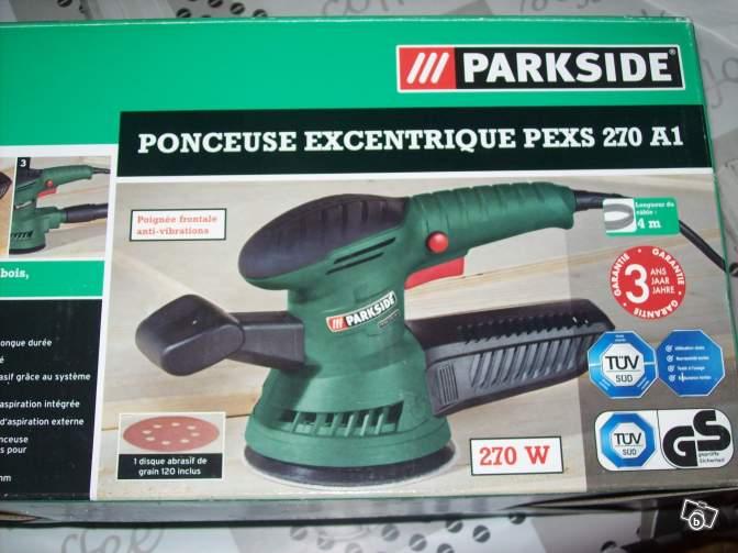 Ponceuse excentrique parkside